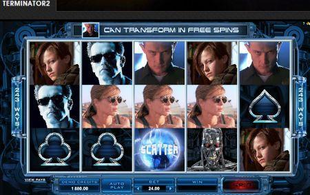 Terminator2 Slots Game